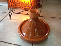 New Moroccan artisan healthy meat small Ceramic Cooking Pot kitchen Tangine Tanjine Clay hand made