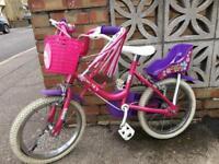 "Girl's bike 14"""