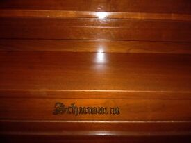 upright piano by schumann desk type