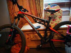 Mountain bike Chris Boardman