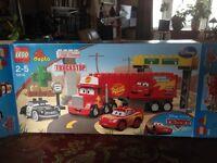 Duplo Disney Cars Macs Road Trip Rare Complete Boxed Set 5816 plus instructions