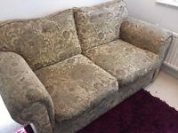 2 Seater Sofa Bed - Metal Action - Vintage