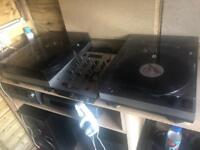 Kam direct drive decks and new mixer