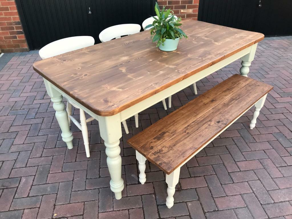 Table bench and chairs penrith