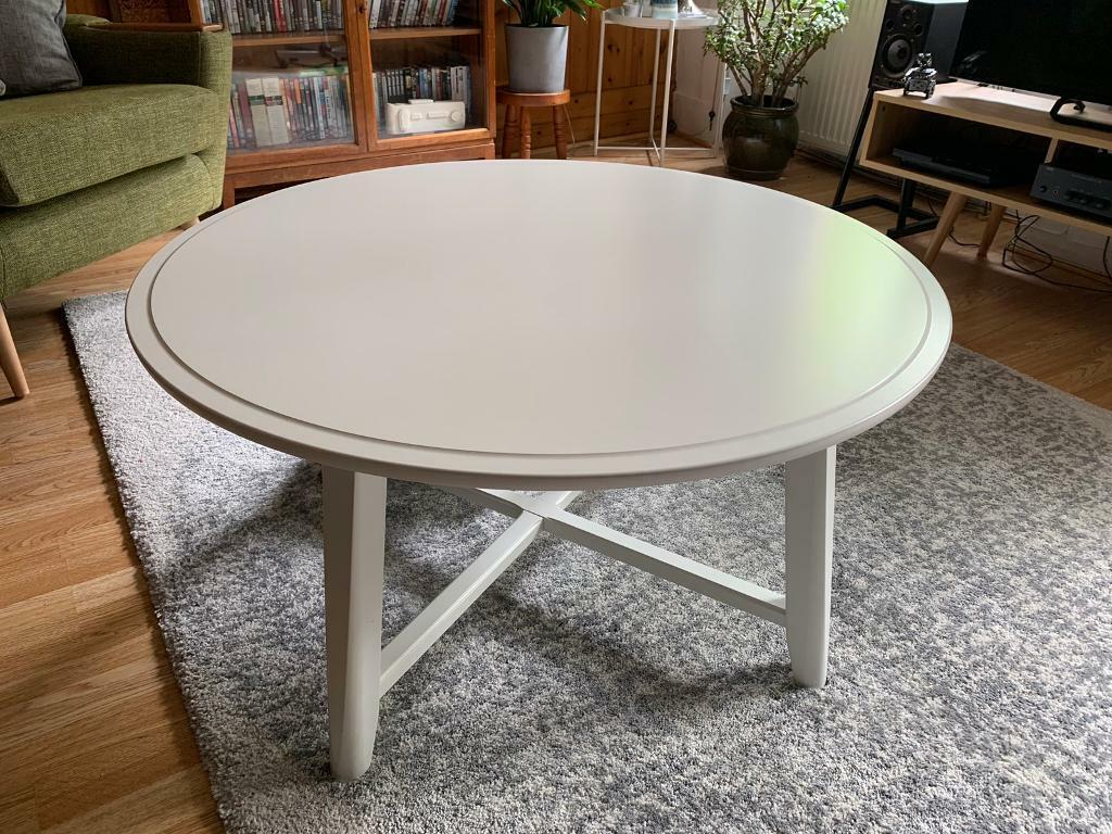 Ikea KRAGSTA White Coffee Table | in Hyndland, Glasgow ...