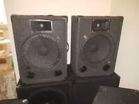 pair of 500w speakers