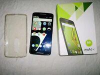 Motorola Moto X Play 2015 Black Excellent Condition