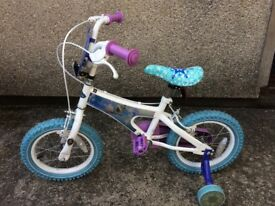 Frozen themed bike