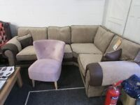 Corner Sofa with 12 month guarantee