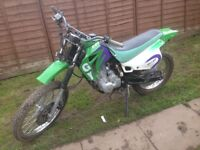 150cc pit bike could be put on road
