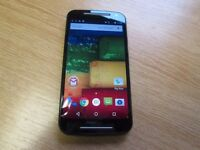 Motorola MOTO G (2nd Gen) XT1072 - 8GB - Black (Unlocked) Used.