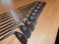 A Set Of 9 YASUDA IRONS. 3 TO S/W,