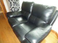 Sofa - 2 Seater Leather