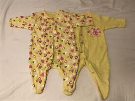 Never worn baby grows