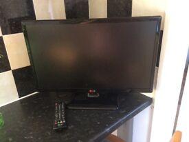 22 inch LG LED FLAT SCREEN TV