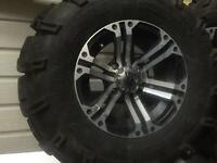 ITP. SS RIMS and MUDLITE tires
