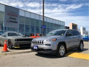 2014 Jeep Cherokee Sport-ACCIDENT FREE AND PRICED RIGHT!!!
