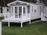 Stunning caravan avaible for holiday rental book for next year