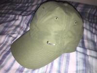 Green Nike cap never been worn