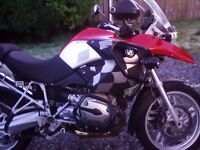 Bmwr1200gs good condition engine bars and guards vario panniers splash guards front and rear