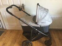 Uppa baby vista pram/stroller with rumble seat