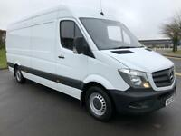 MERCEDES-BENZ SPRINTER 2.1 313 CDI LWB 129 BHP DIRECT FROM MERCEDES, FULL HISTORY (white) 2015