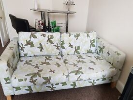 2 and 3 seater ikea sofa