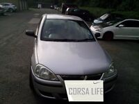 2004 CORSA LIFE 1.2 low millage 2 owners full service book 2 keys special alloys good conditions