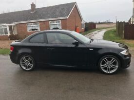 Bmw 120 m sport red leather head