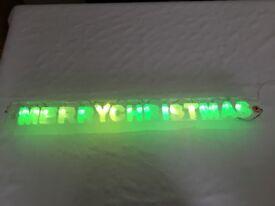 MERRY CHRISTMAS LED Light set