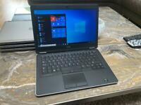 "Joblot Dell latitude E7440 laptop 14"" intel core i5 4th gen 2.90ghz 8GB RAM 128GB SSD Windows 10"