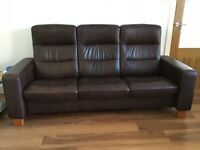 Ekornes Stressless Wave 3 Seater Sofa
