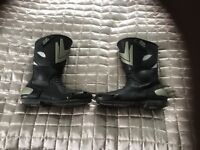 Frank Thomas motorcycle boots size 11