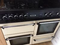 Leisure dual fuel cooker