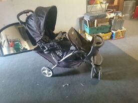 GRACO TANDEM DOUBLE BUGGY FOR SALE