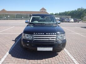 Super Range Rover Sport Black with Ivory Leather Interior Only 39000 mls Service History