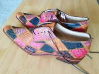 Genuine Crocodile Skin Shoe's.