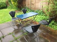 Garden Table with 4 Chairs