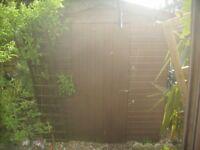 8x6 garden shed