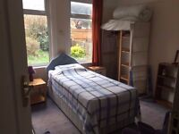Lovely med-large single room, suit female, low deposit, £100pw (negotiable), incl ALL bills
