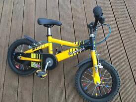 Children's bike. 14inch wheels