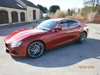 2015 Maserati Ghibli 295bhp Diesel best colour combo new upgraded alloys & new continental tires