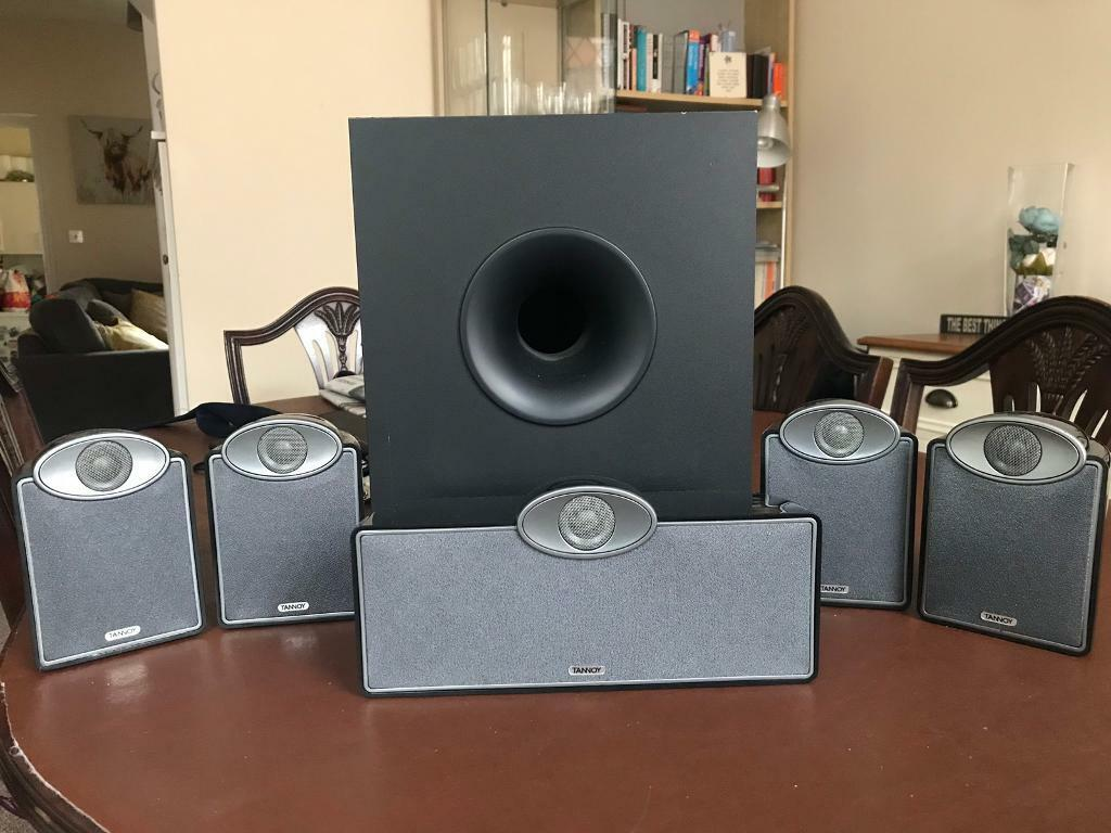 Tannoy 5 1 surround sound speakers and powered subwoofer sfx 5 1 | in  Leicester, Leicestershire | Gumtree