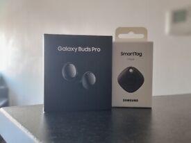 NEW & SEALED Samsung Galaxy Buds Pro + Free Samsung Smarttag bundle
