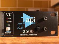 API 2500 Stereo Bus Compressor Mint Condition