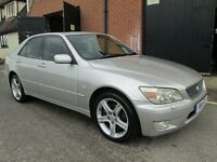 LEXUS IS 200 PETROL MANUAL HALF LEATHER Part exchange available / Credit & Debit cards accepted