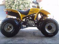 16yr old smc Qadzilla ram 170cc quad bike