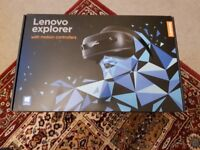 Lenovo Explorer Mixed Reality Headset + Motion Controllers (VR)