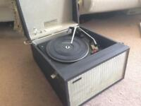 Hacker Gondolier GP42 Vintage Record Player Fully Working