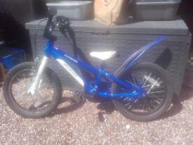 Boys blue specialized hotrock 16 bike